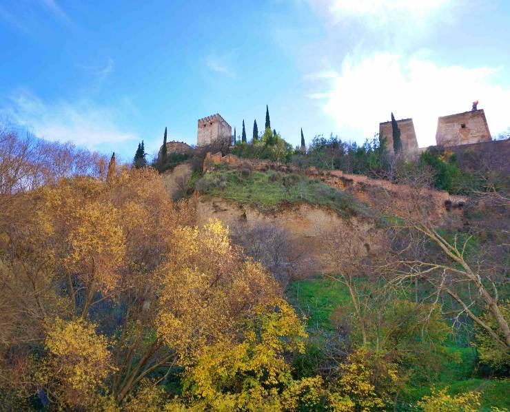 The Alhambra from the Paseo de los tristes