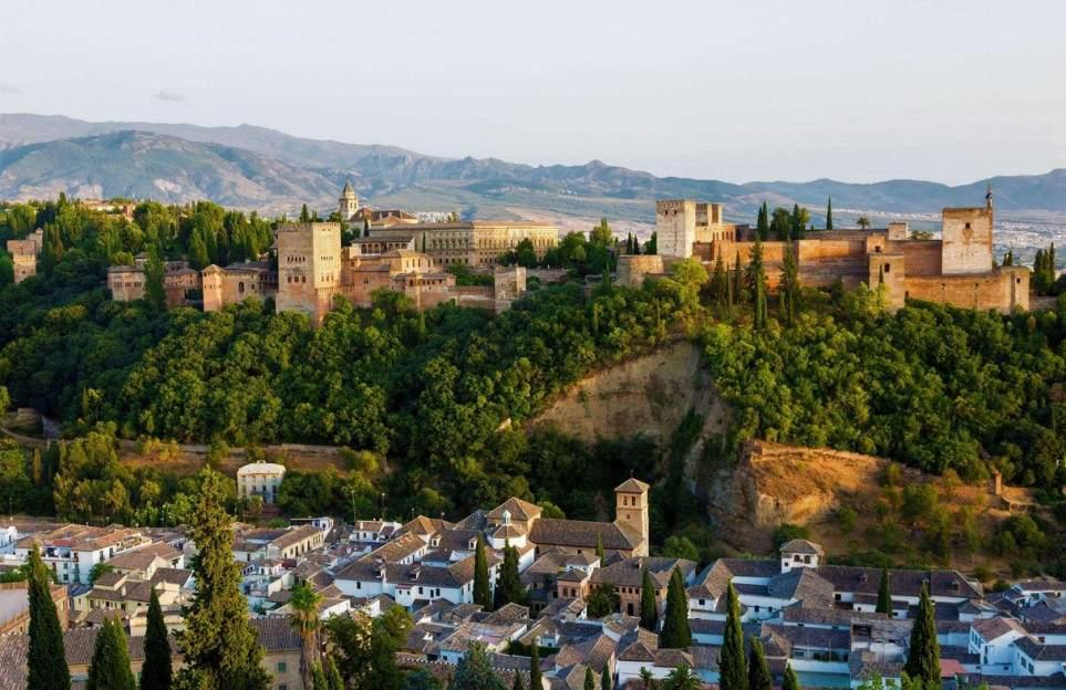 Granada panoramic views