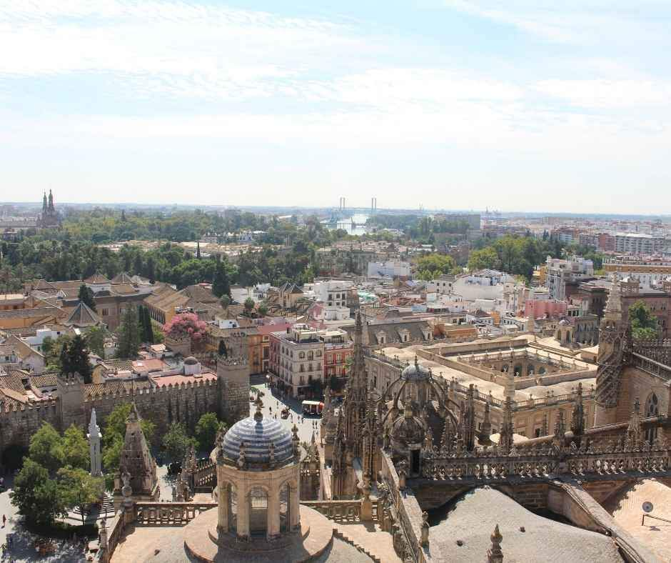 Seville panoramic view