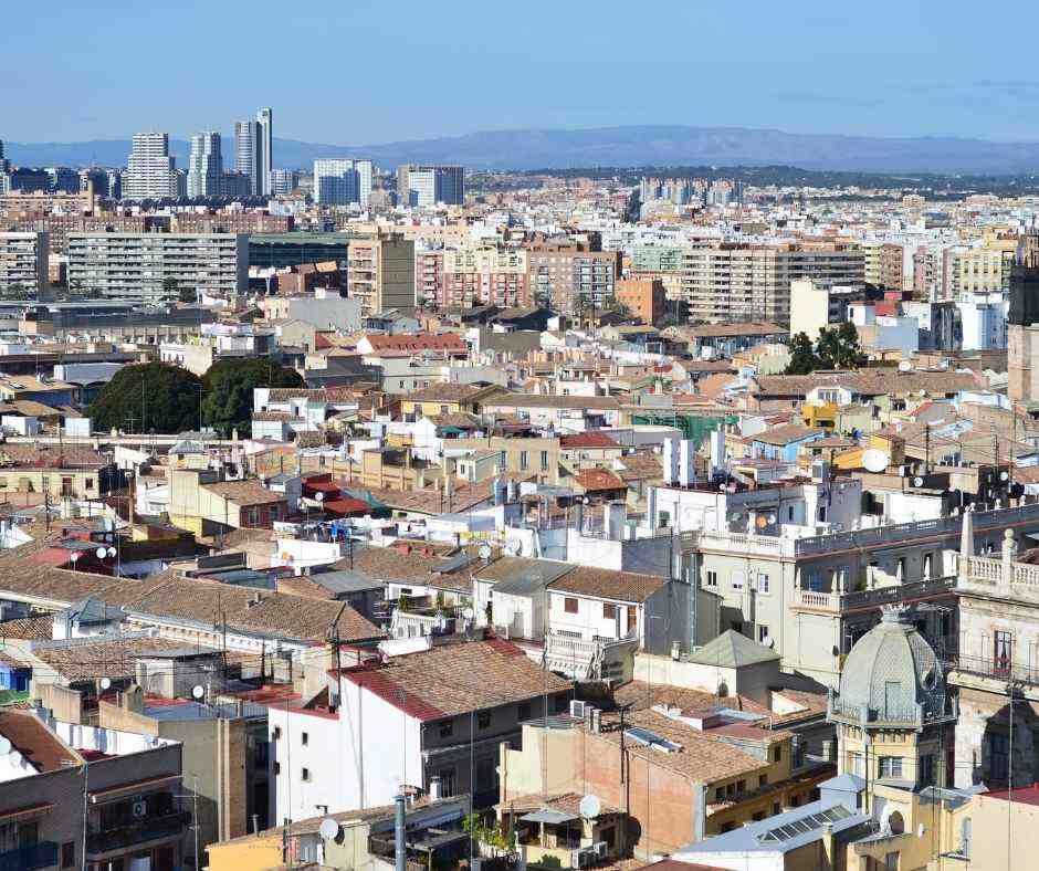 Valencia panoramic views