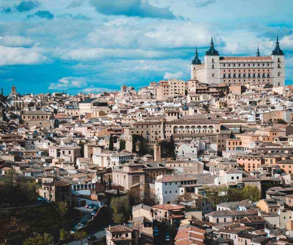 Toledo panoramic views