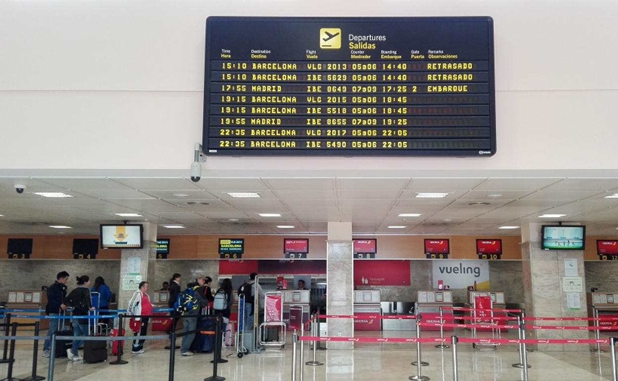 The airport in Granada