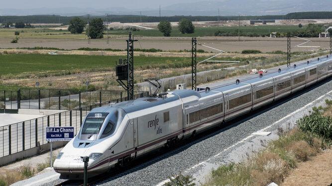 high speed train in Granada
