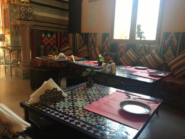 Andalusian tea palace tea shop in granada