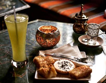 tea shops in granada dar-ziryab