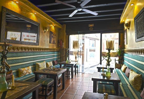 oriental tea shop in granada
