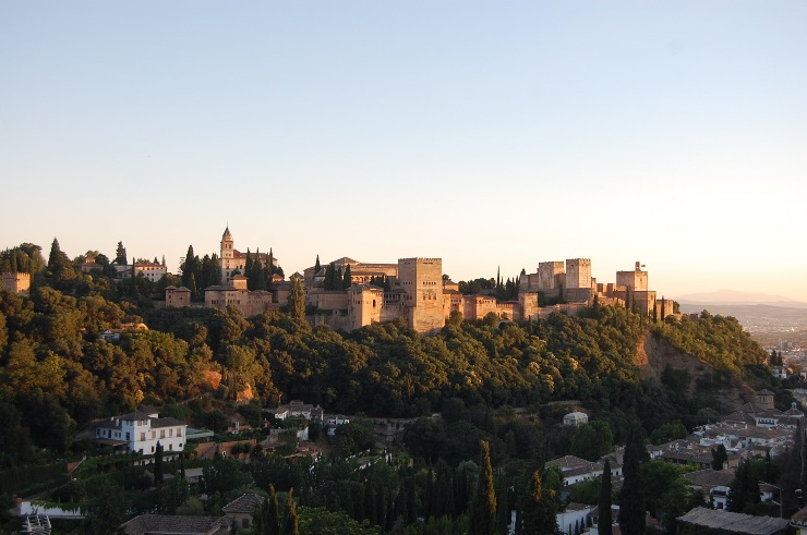 Alhambra panoramic views