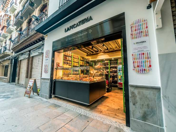 Bar picatera in Granada